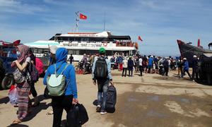 Lý Sơn giảm giá vé, Lào Cai tổ chức thi leo núi