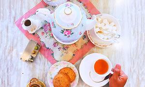 Uống trà kiểu Anh giữa lòng Sài Gòn