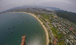 Nhảy dù lượn ngắm nhìn Đà Nẵng từ trên cao