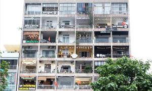Chung cư cà phê độc nhất vô nhị ở Sài Gòn