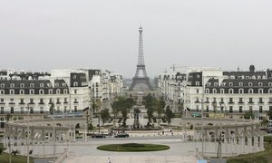 'Paris' bị bỏ hoang giữa lòng Trung Quốc