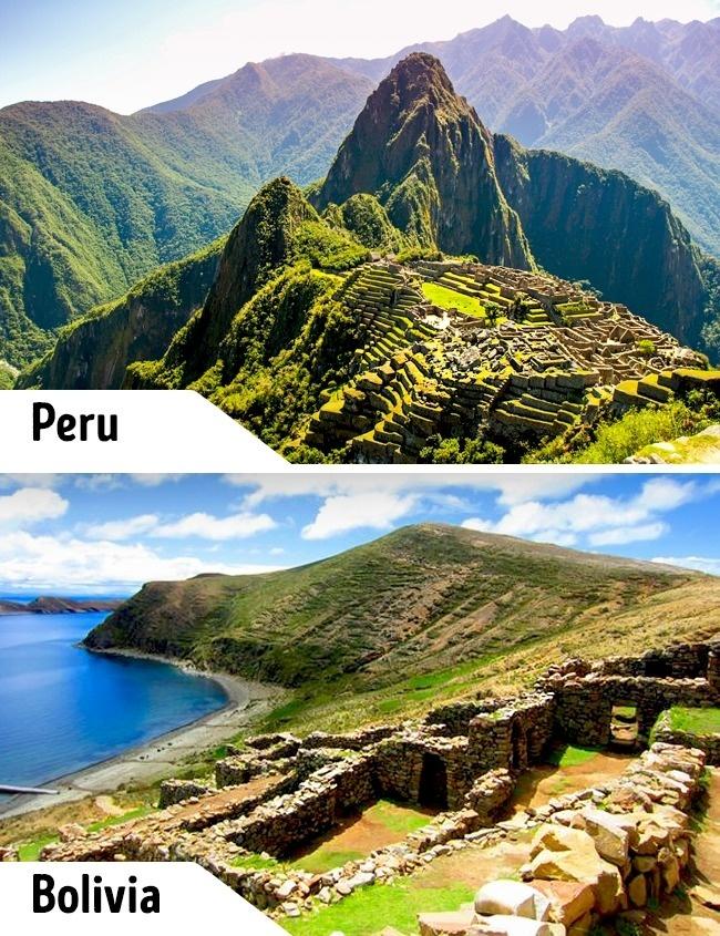 <p> Machu Picchu ở Peru là thành phố cổ của người Inca xưa. Tuy nhiên ở đây không có thức ăn, nước uống để phục vụ và rất hạn chế lượng du khách tham quan. Các chuyến khám phá ở Machu Picchu tốn nhiều công sức và cả túi tiền của du khách. Trong khi đó ở Bolivia cũng có một thành phố cổ khác của người Inca rất giống Machu Picchu là Isla del Sol. </p>
