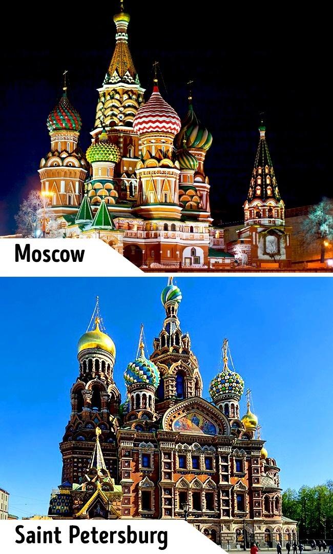 <p> Những mái vòm của nhà thờ Thánh Basil tại Moscow là điểm thu hút bậc nhất của nước Nga. Nhưng chỉ ít người chú ý rằng ở Saint Petersburg cũng có một nhà thờ đẹp không kém với phong cách kiến trúc tương tự nhà thờ Thánh Basil.</p>