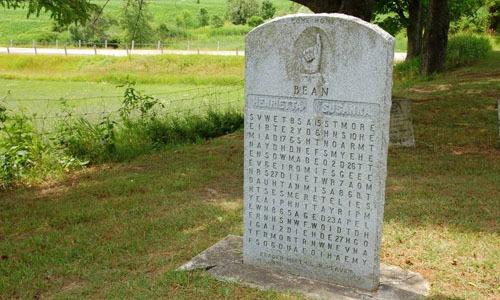 Những ngôi mộ cài mật mã 'đánh đố' hậu thế
