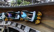 Tàu lượn siêu tốc bằng gỗ duy nhất trên thế giới