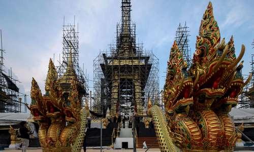 Lễ tang cố vương Thái Lan được chuẩn bị thế nào