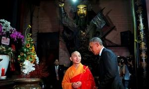 Ngôi chùa trăm tuổi cựu Tổng thống Mỹ từng ghé thăm ở Sài Gòn