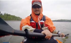 Một mình chèo kayak từ Trung Quốc đến Bắc Băng Dương