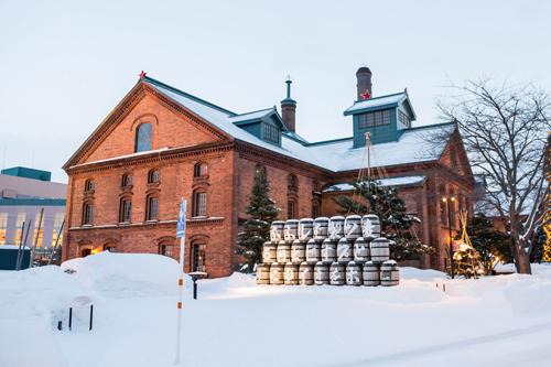 Bảo tàng bia Sapporo, nổi tiếng thế giới.