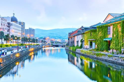 Thành phố kênh đào Otaru.
