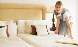 Phép thử lật tẩy độ sạch sẽ của giường ngủ trong khách sạn