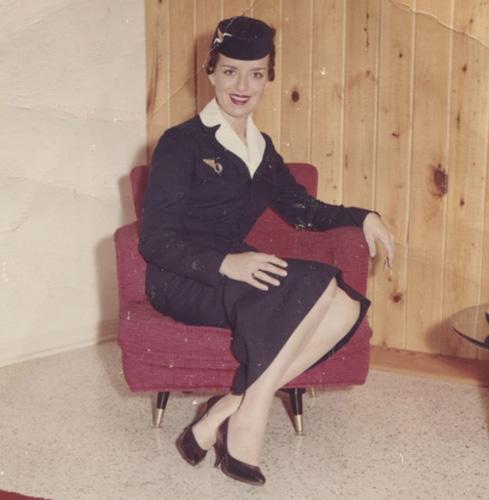 Bette Nash thời trẻ. Ảnh: AFP.