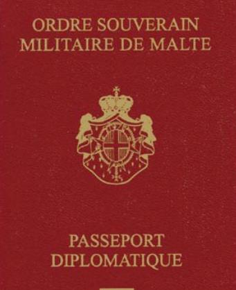 Hộ chiếu Dòng Chiến sĩ Toàn quyền Malta. Ảnh: Passportcollector.