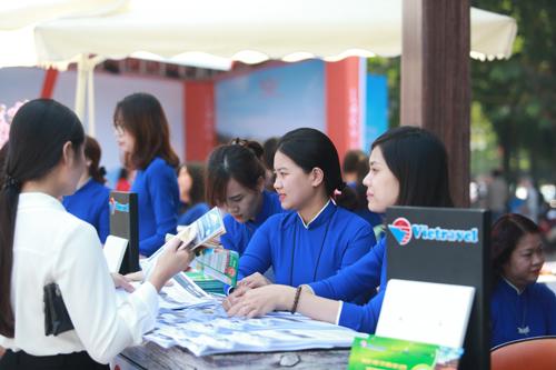 Hội chợ tổ chức tại Trung tâm Truyền hình  Triển lãm - Hội chợ - Quảng cáo tỉnh Thanh Hóa.