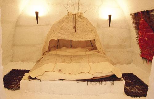 Nhiều người đã tới lâu đài để tổ chức đám cưới và nghỉ tuần trăng mật. Khách thuê phòng khách sạn sẽ được ngủ trên những tấm thảm và đắp chăn bằng da tuần lộc.