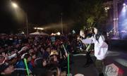Người Hà Nội 'cháy hết mình' với concert tại phố đi bộ cuối tuần