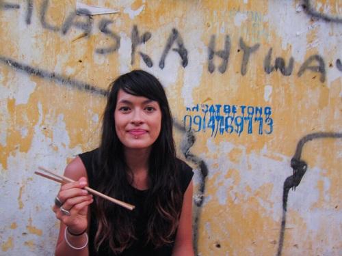Sophie từng đến Việt Nam. Ảnh:Sophie Saint.