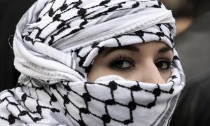 Những người dệt khăn trùm đầu cuối cùng ở Palestine