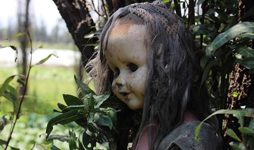 Nhiều du khách đến đây đều tin rằng, ẩn sâu trong mỗi con búp bê là một linh hồn bé nhỏ. Ảnh: Wiki.