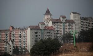Khu trượt tuyết hoang tàn trước thềm Olympic mùa đông ở Hàn Quốc