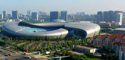 Sân vận động Thường Châu là nơi sẽ diễn ra trận chung kết giữa U23 Việt Nam và Uzberkistan. Ảnh: Pinterest.