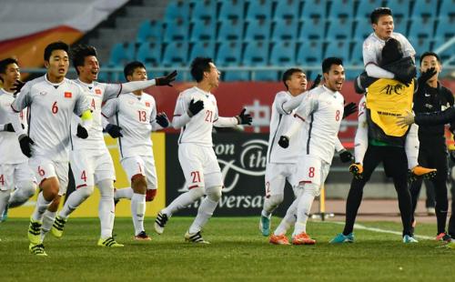 Đội U23 Việt Nam khiến thế giới chấn động với thành tích của mình.