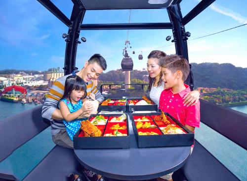 Du lịch Singapore Malaysia Tết là cơ hội nghỉ ngơi vui chơi cho cả gia đình.