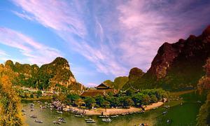 Tràng An mở thêm tuyến mới hút khách dịp Tết Nguyên đán
