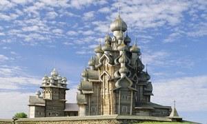 Nhà thờ gỗ không dùng đinh 300 tuổi ở Nga