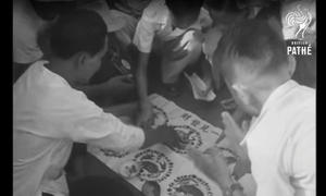 Phim hiếm về Tết Nguyên đán ở Việt Nam những năm 1950