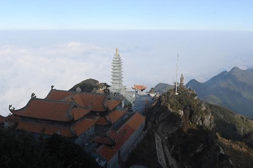 Tượng Phật A Di Đà cao nhất Việt Nam trênđỉnh Fansipan - 7