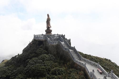 Tượng Phật A Di Đà cao nhất Việt Nam trênđỉnh Fansipan - 8