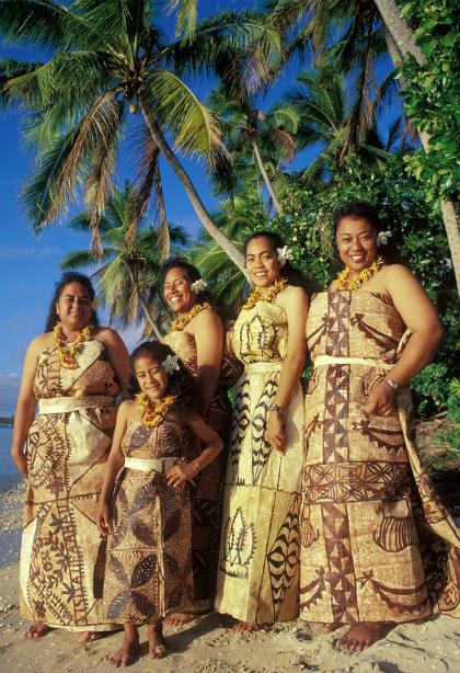 Phụ nữ Tonga. Ảnh: blogspot.