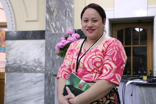 Akosita Lavulavu một chính khách người Tonga. Ảnh: RNZI.