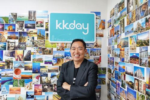 Ông Chen Ming Ming, CEO của KKday. KKday tiến hành hợp tác với tập đoàn H.I.S để nâng cao sự đa dạng trong các sản phẩm có giá cả phải chăng của mình.