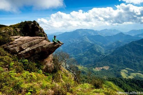 Pha Luông cũng chính là địa danh nổi tiếng trên đường đi của đoàn quân Tây Tiến năm xưa. Ảnh: Mèo Già.