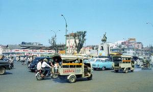 Ảnh phim hiếm về trung tâm Sài Gòn năm 1967