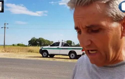 Pedro dẫn cảnh sát và truyền hình tới nơi anh đỗ xe và chàng trai lạ biến mất một cách bí ẩn. Ảnh: News.