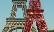 Pháp có thể sơn lại màu đỏ cho tháp Eiffel