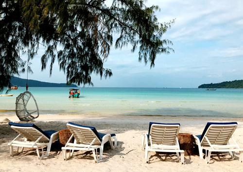 Đảo thiên đường Koh Rong.