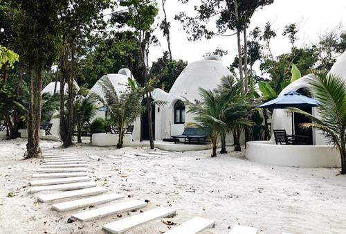 Một khu nghỉ trên đảo Koh Rong.