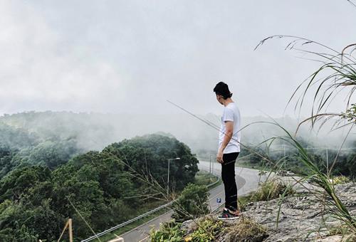 Cao nguyên Bokor mù sương.