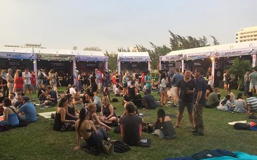 Hơn 350 người đã tham dự sự kiện ẩm thực lần này. Ảnh: TN.