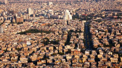 Thủ đô Damacus là thành phố lớn nhất của Syria, có tên gọi là Thành phố Nhài. Ảnh: Youtube.