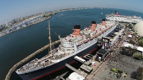 Tàu Queen Mary. Ảnh: youtube.