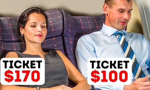 Vì sao hành khách ngồi cùng hàng ghế mua vé giá khác nhau?