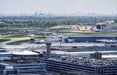 Sân bay Heathrow luôn nằm trong danh sách top các sân bay bận rộn nhất thế giới. Ảnh: Heathrow.