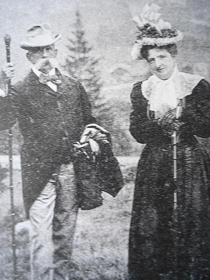 Vua Umberto cùng Hoàng hậu Margherita. Ảnh: Alamy.