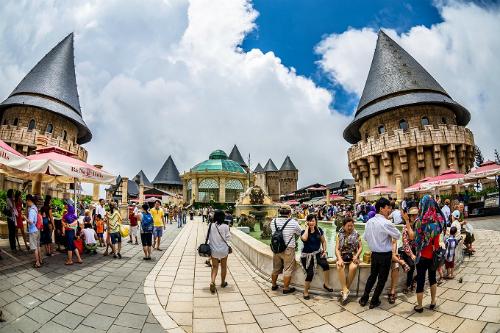 Bà Nà Hills được mệnh danh là châu Âu thu nhỏ ở Đà Nẵng.