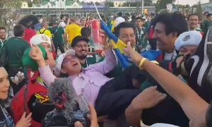 Phản ứng gây sốt của người Mexico khi bắt gặp khách Hàn Quốc